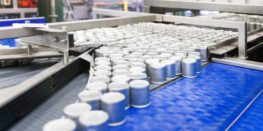 Product handling can line - Lan Handling