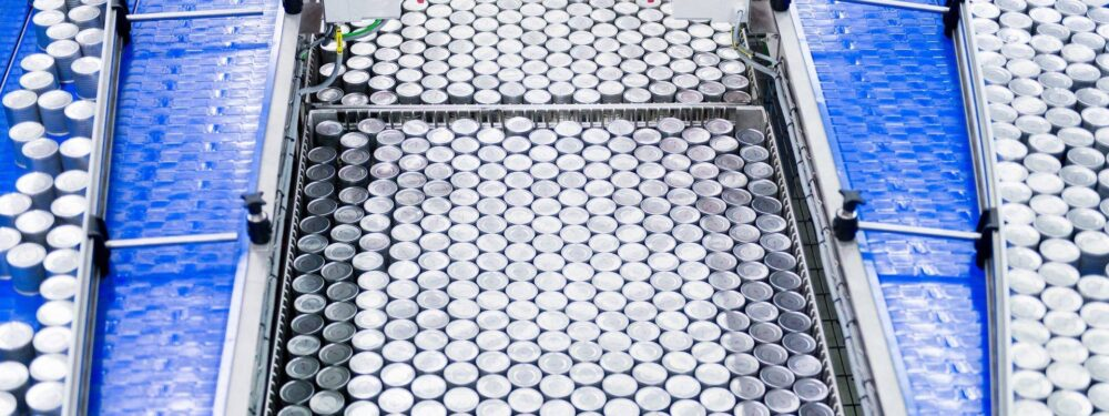 Canned food production line