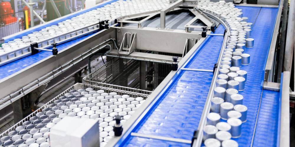 Canned food productielijn