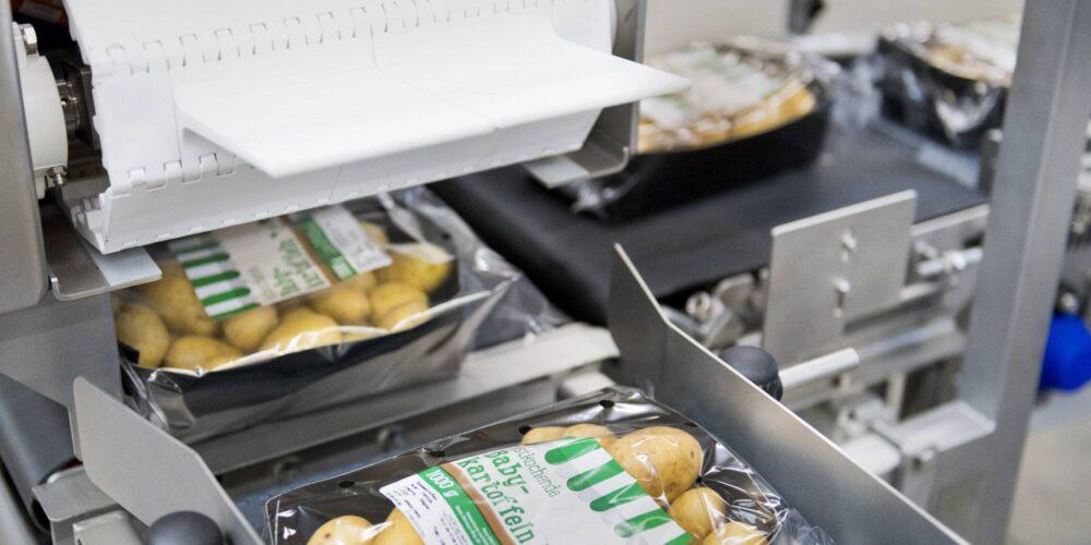Verpakkingslijn aardappelen