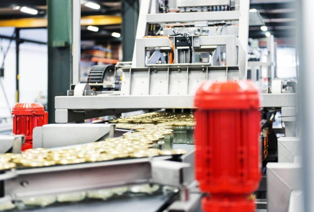 jar production line