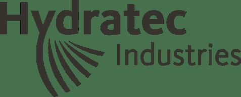 Hydratec Industries logo zwart